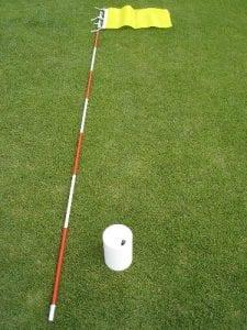 ゴルフのカップホール