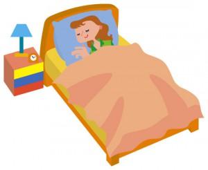 コース前日の十分な睡眠