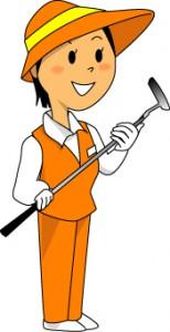 ゴルフ キャディー