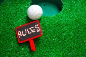 ゴルフルール ボール