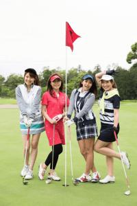 ゴルフ女子仲間