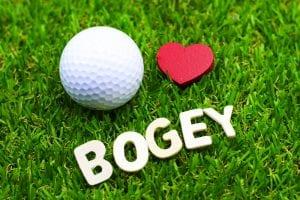 ゴルフ ボギー