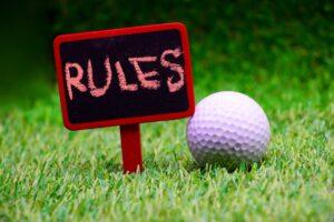ゴルフルールを守ろう