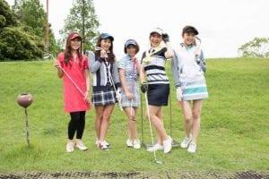 ゴルフ女子のゴルフコーデ