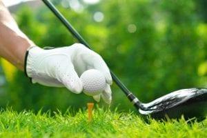 ゴルフのルーティン