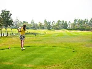 ゴルフ  ワンピース