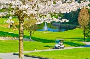 ユニクロ 春 ゴルフ