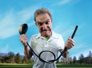 golf mistake