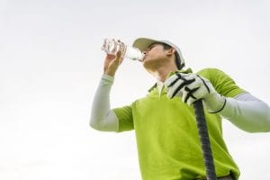 ゴルフ 熱中症