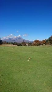 軽井沢72ゴルフ風景