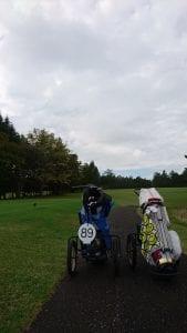 晴山ゴルフ セルフプレー