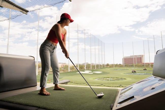ゴルフ 初心者 打ちっ放し