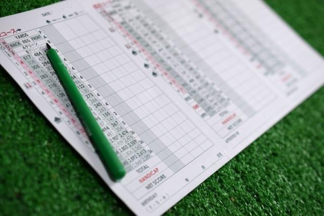 ゴルフスコア