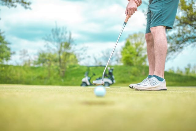 Golf address