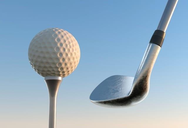 ゴルフボール 当たらない