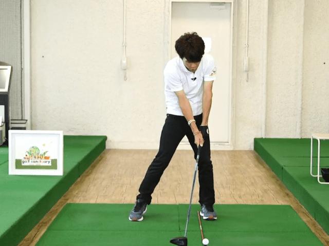 ゴルフ スクワット