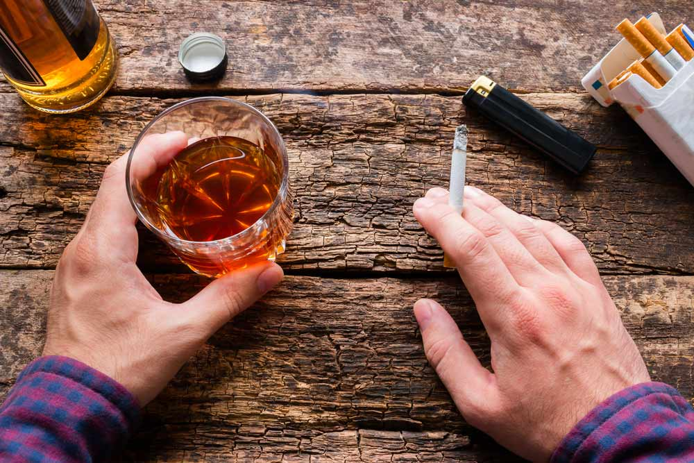 酒 タバコ