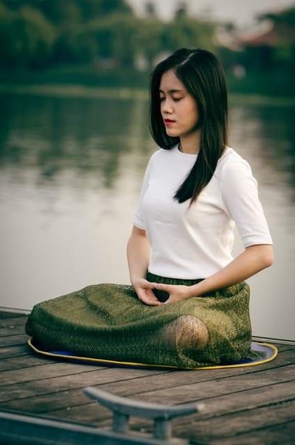 golf mental  meditation