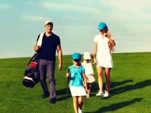 ゴルフ 家族