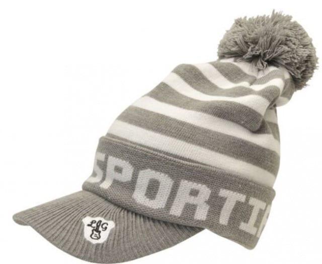 ゴルフニット帽
