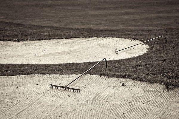 ゴルフ バンカー